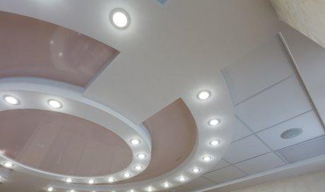 Pose et installation de spots LED au plafond par électricien à Saint-Leu 974
